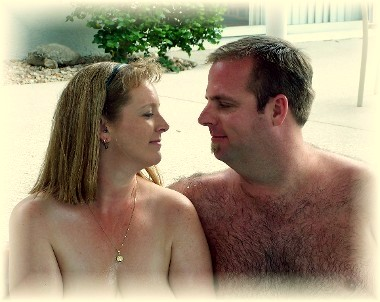 A romantic couple: Real People - who come to Living Waters Spa in Palm Springs / Desert Hot Springs